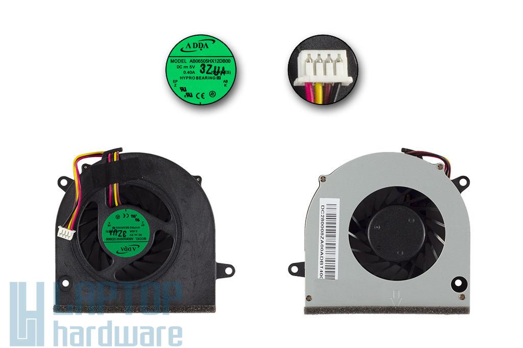 Lenovo IdeaPad G460, G560,G565, Z460, Z560 gyári új laptop hűtő ventilátor, AB06505HX12DB00