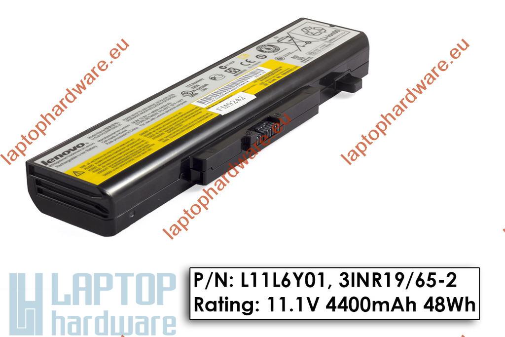 Lenovo IdeaPad G480, G580, Z580  használt gyári laptop akku/akkumulátor  75%-os (L11S6Y01)