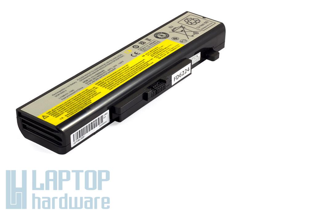 Lenovo IdeaPad G480, G580, Z580 helyettesítő új 6 cellás laptop akku/akkumulátor (L11M6Y01)
