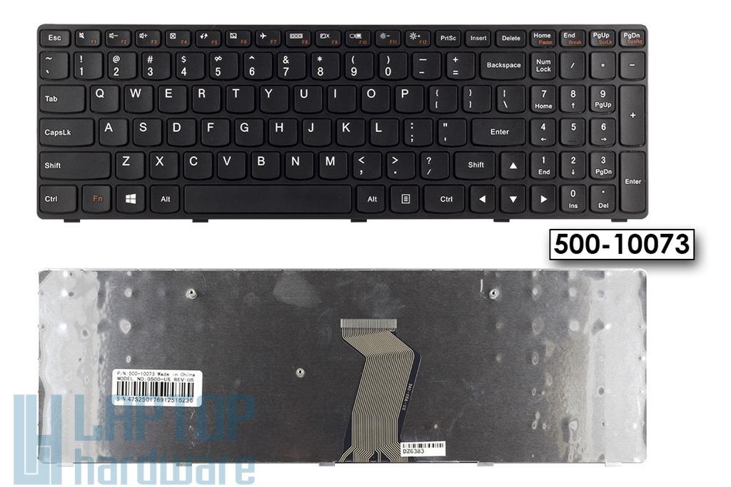Lenovo IdeaPad G500, G505, G510 gyári új US angol fekete billentyűzet (500-10073)