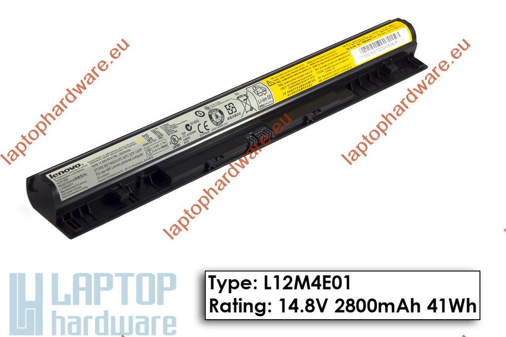 Lenovo IdeaPad G500s, G505s, G510s használt 90%-os gyári 3 cellás laptop akku/akkumulátor (L12M4E01)