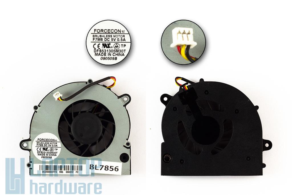 Lenovo IdeaPad G550, G555, használt laptop hűtő ventilátor, DFS531305M30T