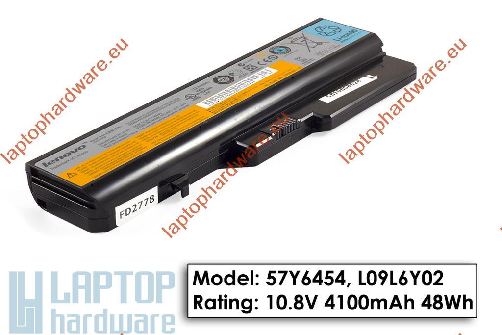 Lenovo IdeaPad G560, G570, Z560 használt, 6 cellás 60%-os gyári laptop akku/akkumulátor (L09L6Y02)