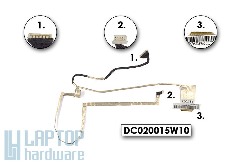 Lenovo IdeaPad G570, G575 laptophoz használt LCD kábel (DC020015W10)