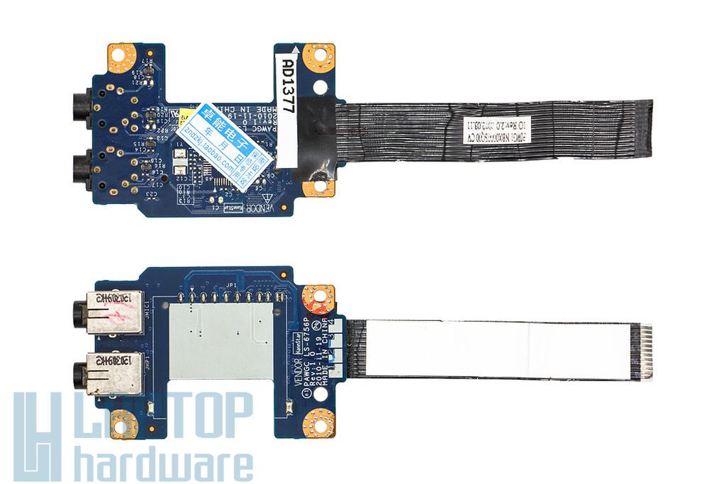 Lenovo IdeaPad G575 laptophoz használt Audio panel (LS-6756P)
