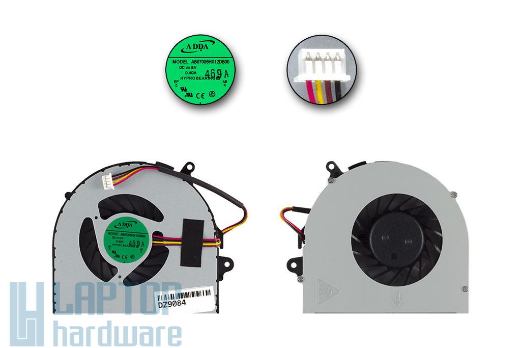 Lenovo IdeaPad G580, G480 gyári új laptop hűtő ventilátor (AB07005HX12DB00)