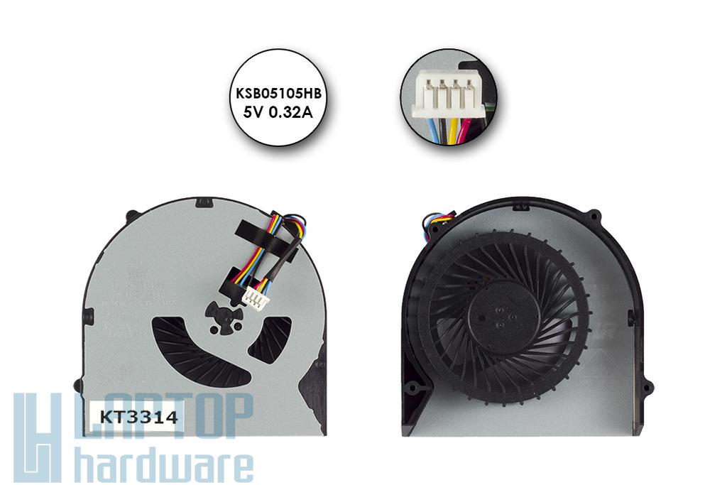 Lenovo IdeaPad G480, G580 gyári új laptop hűtő ventilátor (UMA) (KSB05105HB)