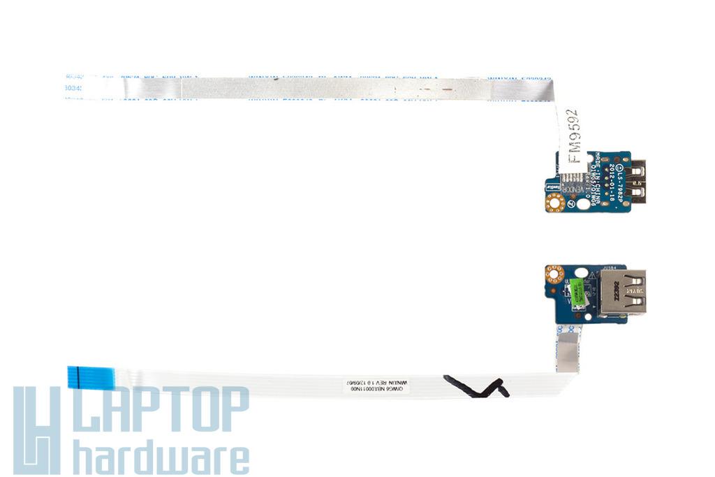 Lenovo IdeaPad G580 laptophoz használt USB panel (LS-7982P)