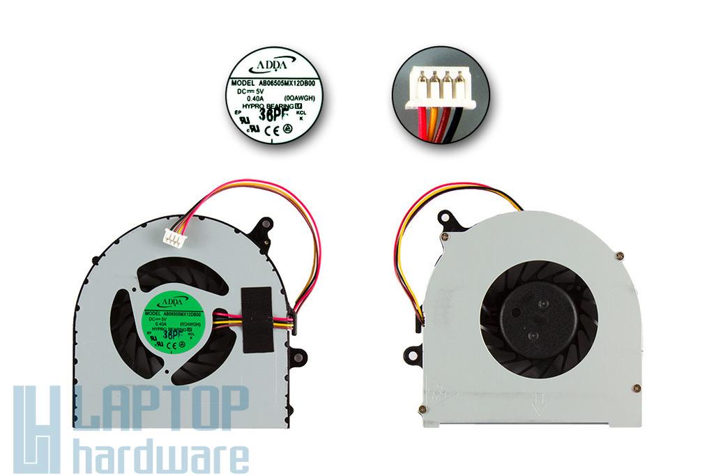 Lenovo IdeaPad G580, P580, N580 gyári új laptop hűtő ventilátor (DIS) (AB06505MX12DB00)