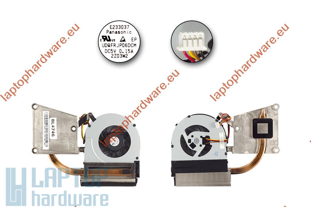 Lenovo IdeaPad G585, N585 használt laptop hűtő ventilátor (AT0R5002PM0)