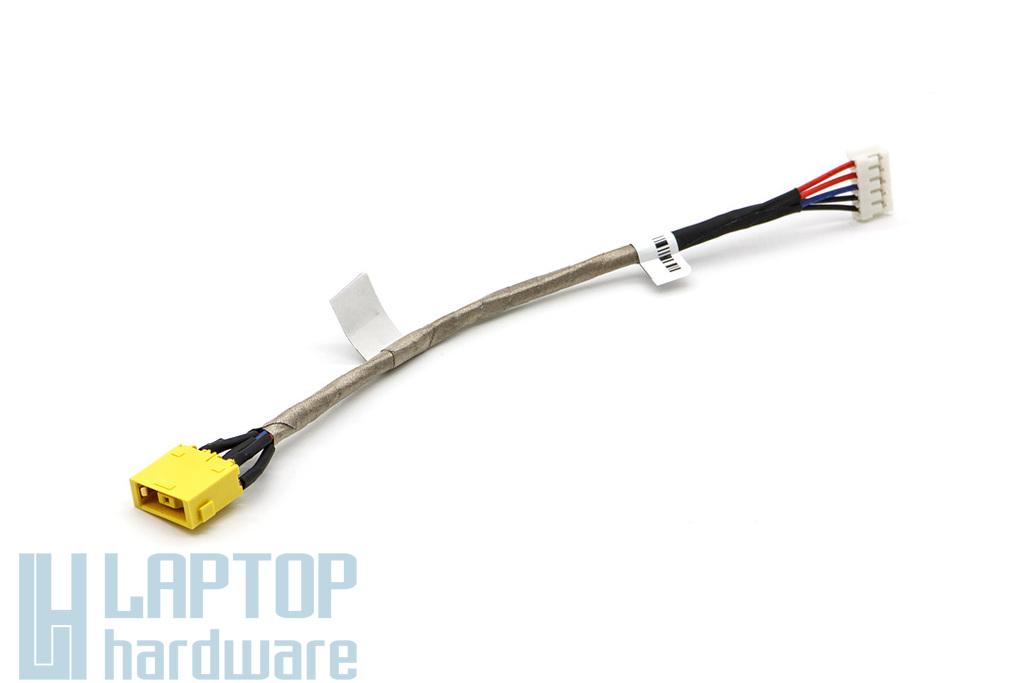 Lenovo IdeaPad G700, G710, Z710 gyári új DC-tápaljzat kábellel (90202793)