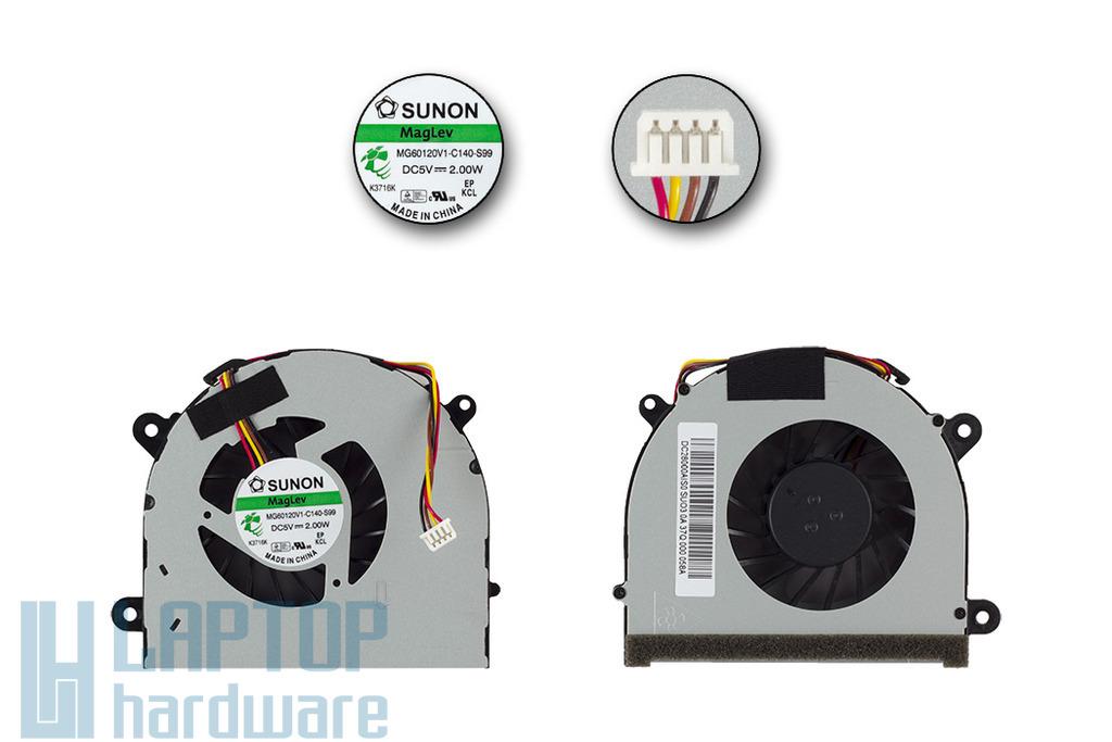 Lenovo IdeaPad G770 gyári új laptop hűtő ventilátor (MG60120V1-C140-S99)