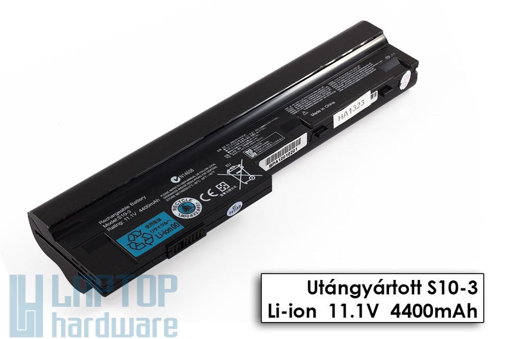 Lenovo IdeaPad S10-3, S205, U160, U165 helyettesítő új 6 cellás laptop akku/akkumulátor (L09C3Z14)