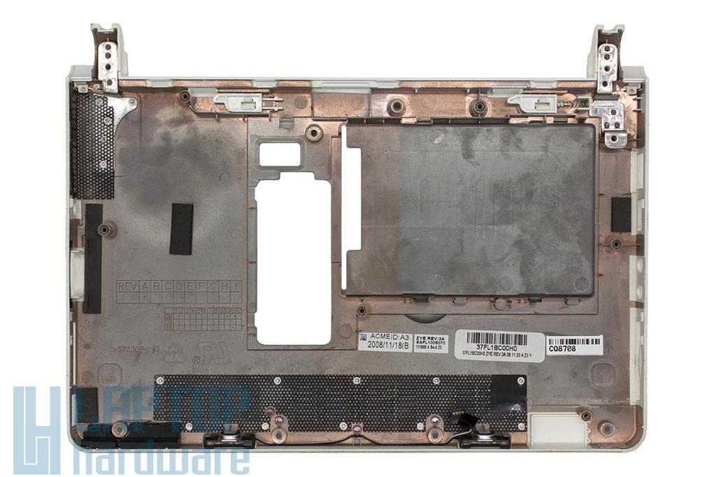 Lenovo IdeaPad S10, S10e laptophoz használt fehér alsó fedél hangszórókkal (37FL1BC00H0)