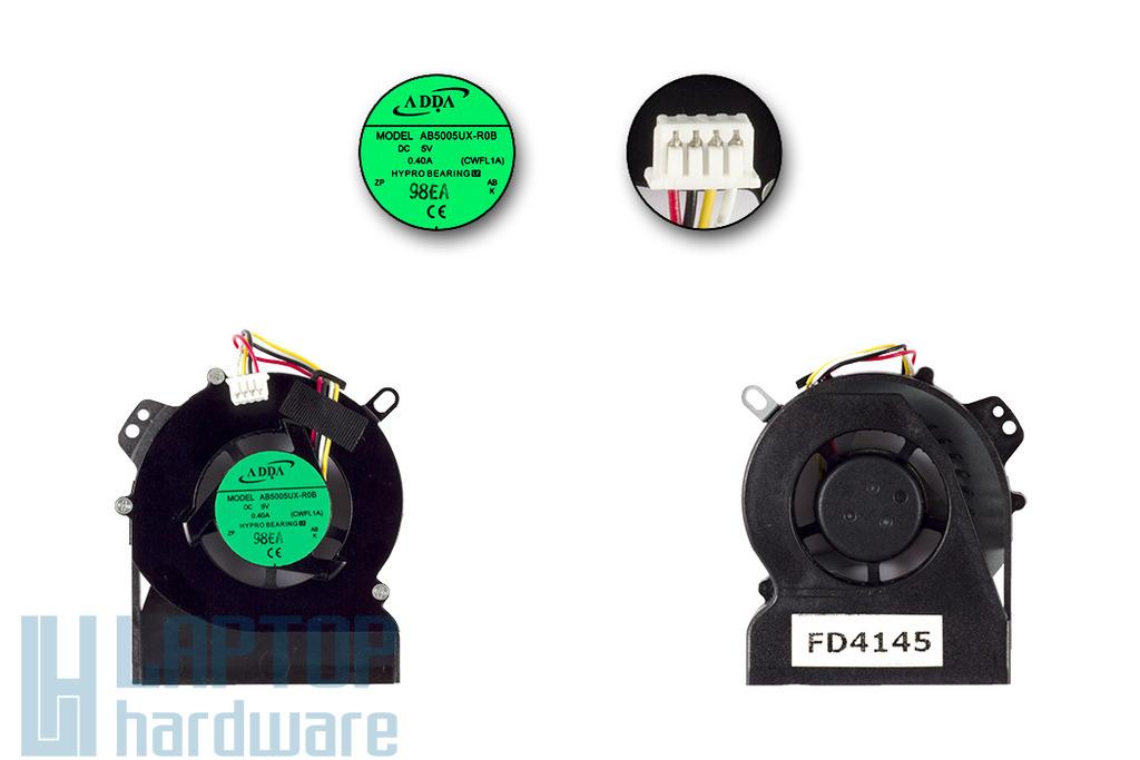 Lenovo IdeaPad S9, S9e, s10, s10e gyári új 4 pines laptop hűtő ventilátor (AB5005UX-R0B)