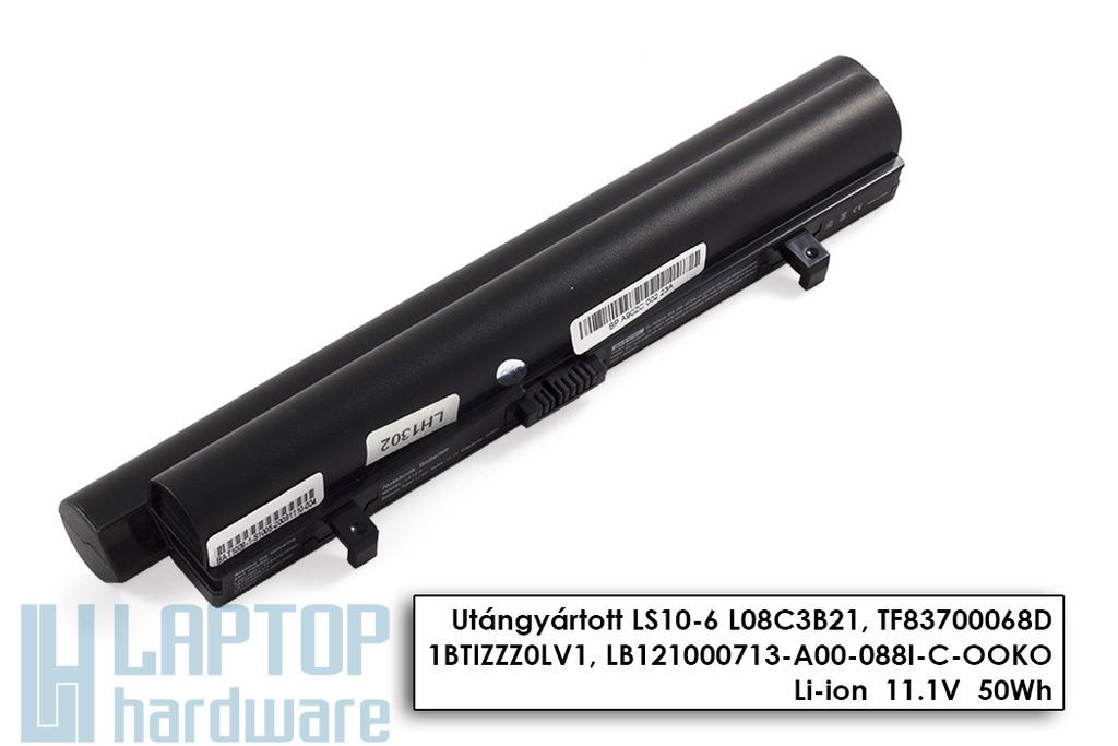 Lenovo IdeaPad S9, S9e, S10, S10e, S12 helyettesítő új 6 cellás fekete laptop akku/akkumulátor (45K2178)