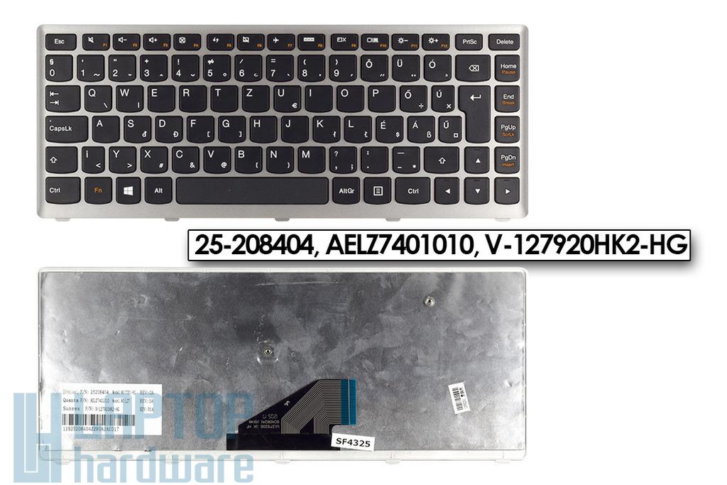 Lenovo IdeaPad U310 gyári új magyar ezüst-fekete laptop billentyűzet (Win8) (25-208404)