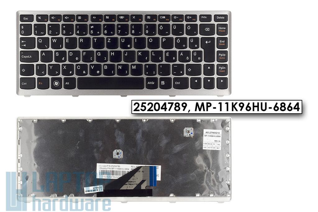 Lenovo IdeaPad U310 gyári új magyar ezüst-fekete laptop billentyűzet (Win7) (25204789)
