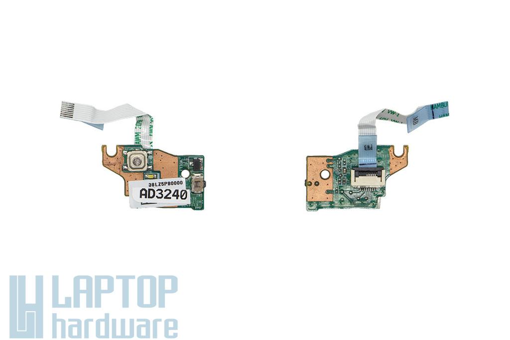 Lenovo IdeaPad U330, U330p használt laptop bekapcsoló panel kábellel (38LZ5PB0000)