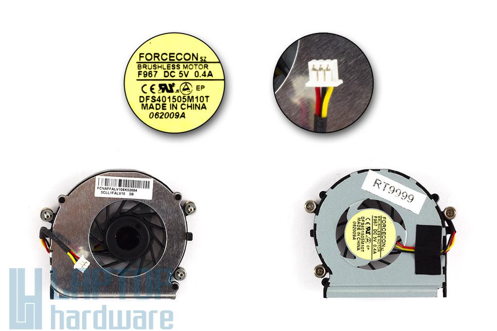Lenovo IdeaPad U350 gyári új laptop hűtő ventilátor (DFS401505M10T)