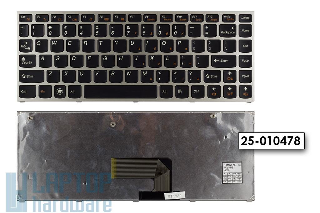 Lenovo IdeaPad U460, U460A gyári új US angol laptop billentyűzet (25-010478)