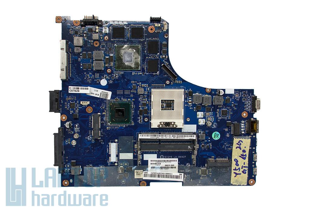 Lenovo IdeaPad Y500 használt laptop alaplap (Intel, Nvidia discrete) (LA-8692P, 90001159)