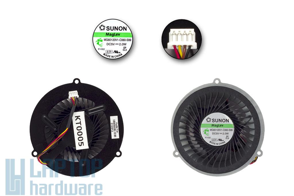 lenovo IdeaPad Y570 Y570A Y570N Y570G gyári új laptop hűtő ventilátor (MF60090V1-C340-G99)