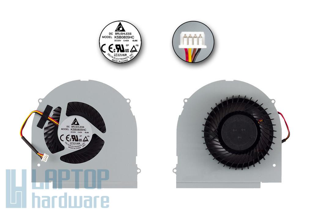 Lenovo IdeaPad Y580 laptophoz gyári új processzor hűtő ventilátor (KSB0805HC-BJ66)