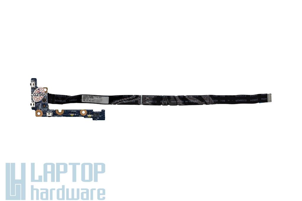 Lenovo IdeaPad Yoga 11S laptophoz használt bekapcsoló panel kábellel (VIUU4, NS-A124 Rev:0.2)