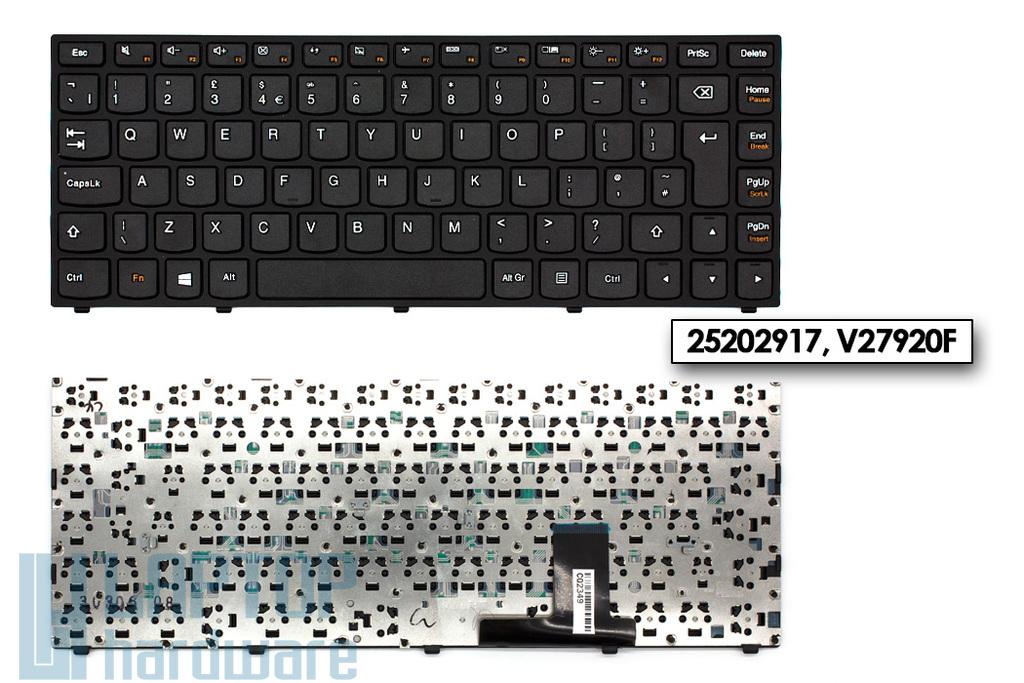 Lenovo IdeaPad Yoga 13 gyári új UK angol fekete laptop billentyűzet (25202917)
