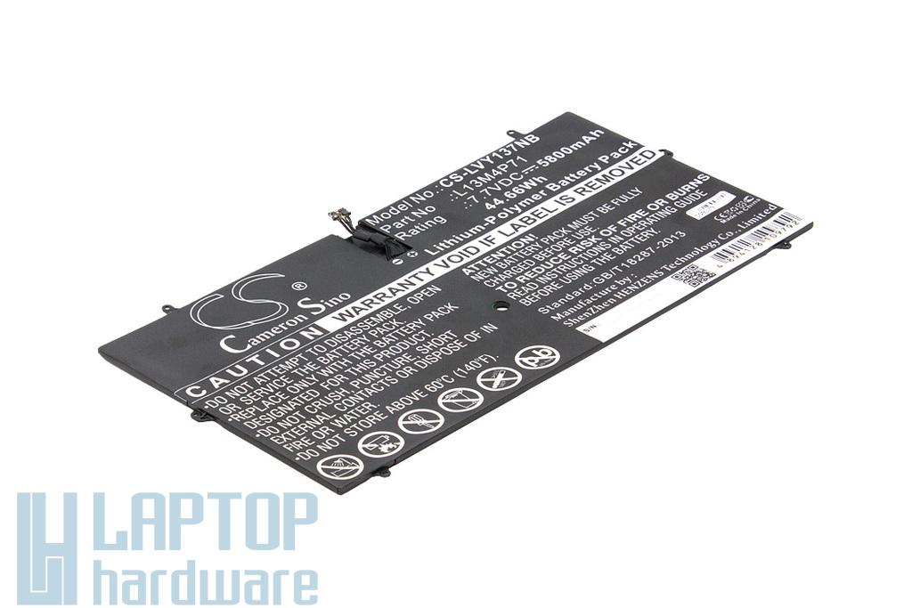Lenovo IdeaPad Yoga 3 Pro 1370 helyettesítő új 44Wh laptop akku/akkumulátor (l13m4p71)