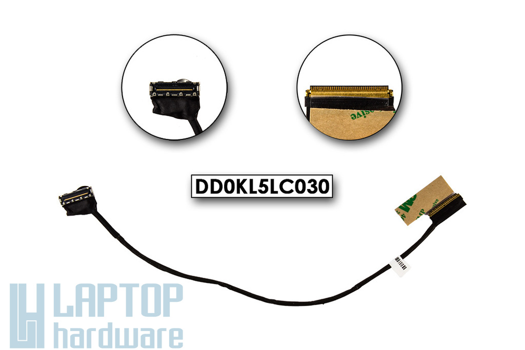 Lenovo IdeaPad Z370, Z370A gyári új laptop LCD kábel (DD0KL5LC030)
