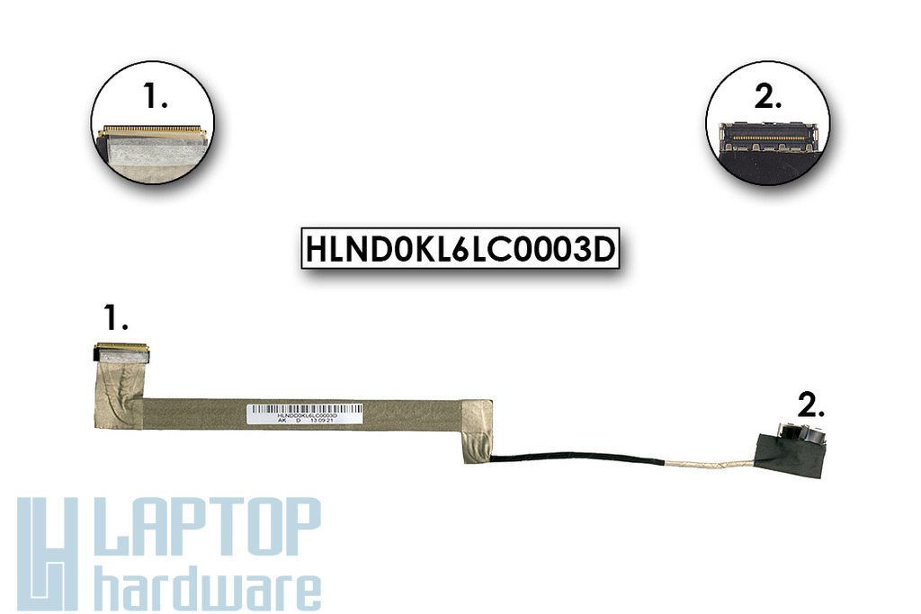 Lenovo IdeaPad Z470, Z475 gyári új laptop LCD kábel, HLND0KL6LC0003D