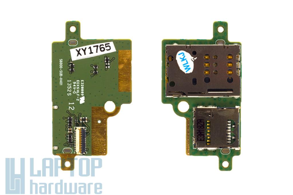 Lenovo IdeaTab S6000 gyári új SIM / SD kártyaolvasó panel (S6000-SUB-H401)