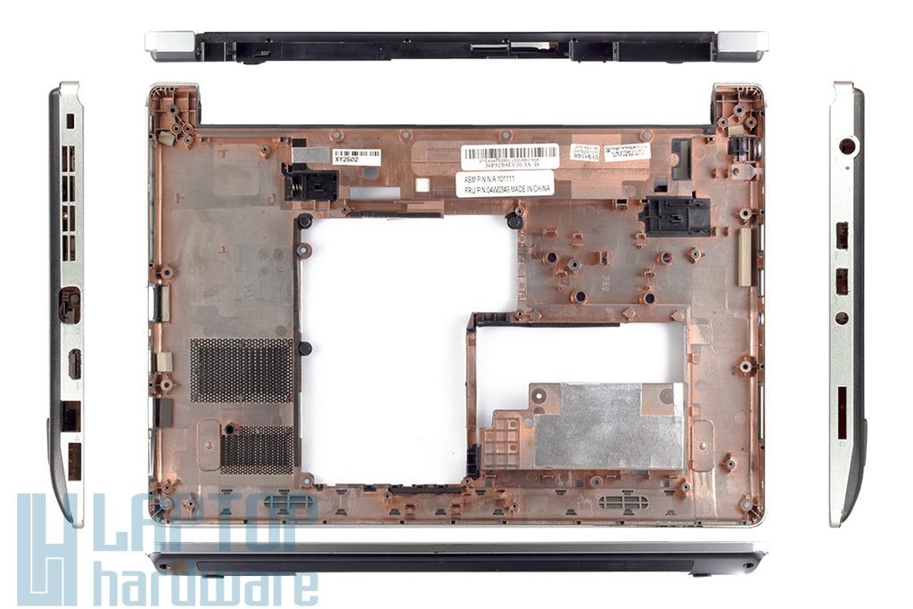 Lenovo Thinkpad Edge 13 laptophoz használt alsó fedél, bottom case, 04W0349