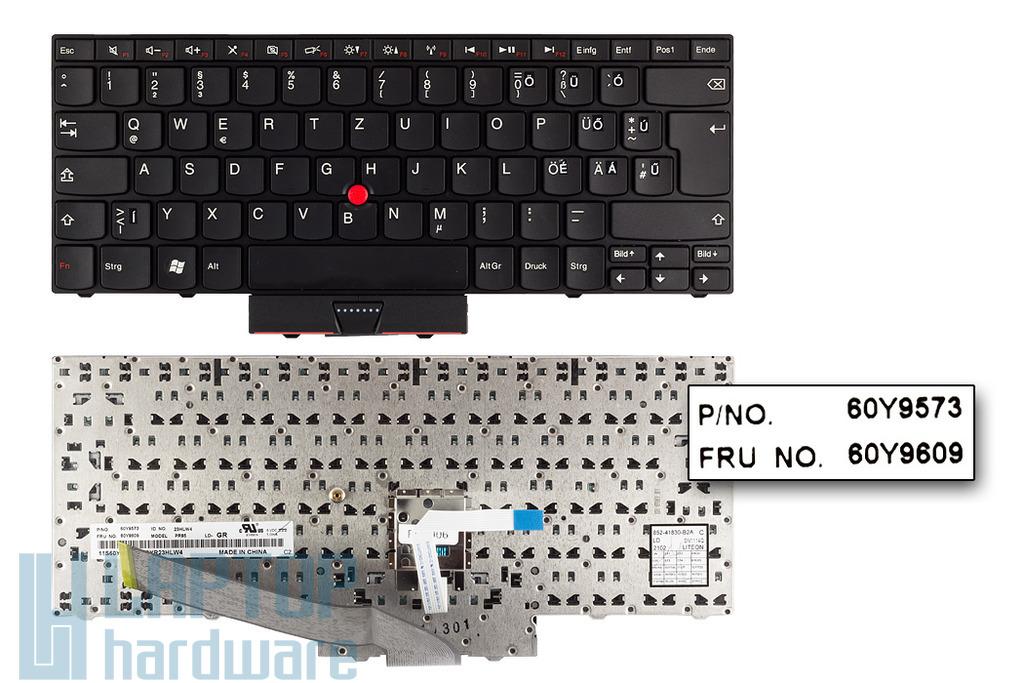 Lenovo ThinkPad Edge 14, 15 használt magyarított laptop billentyűzet (FRU 60Y9609)