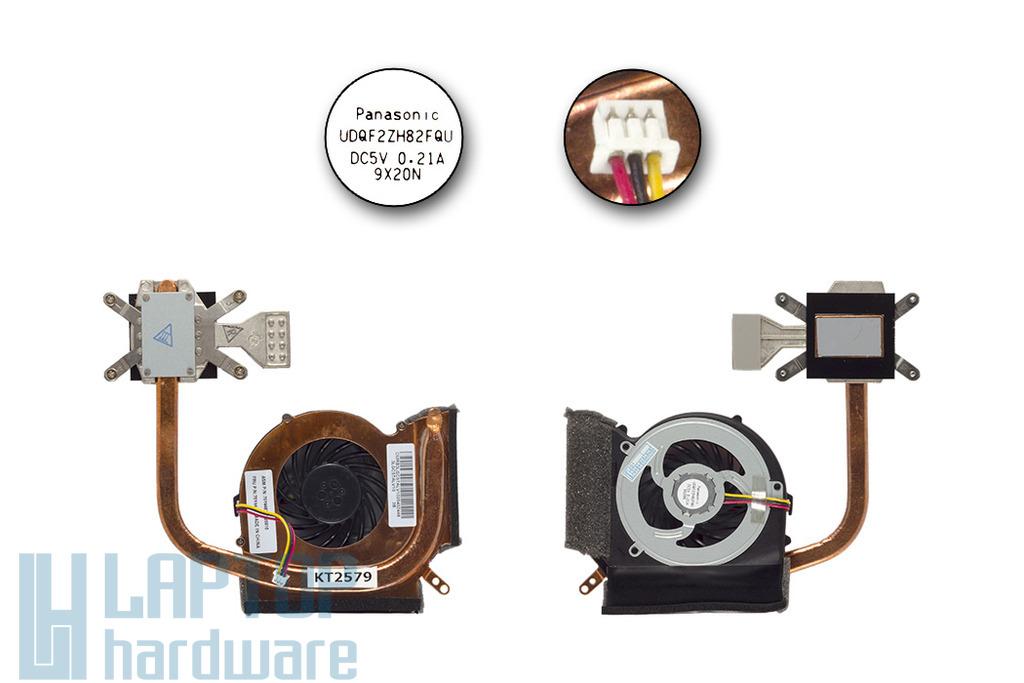Lenovo ThinkPad Edge 14, 15, E40, E50 gyári új komplett hűtő ventilátor egység, 75Y4481