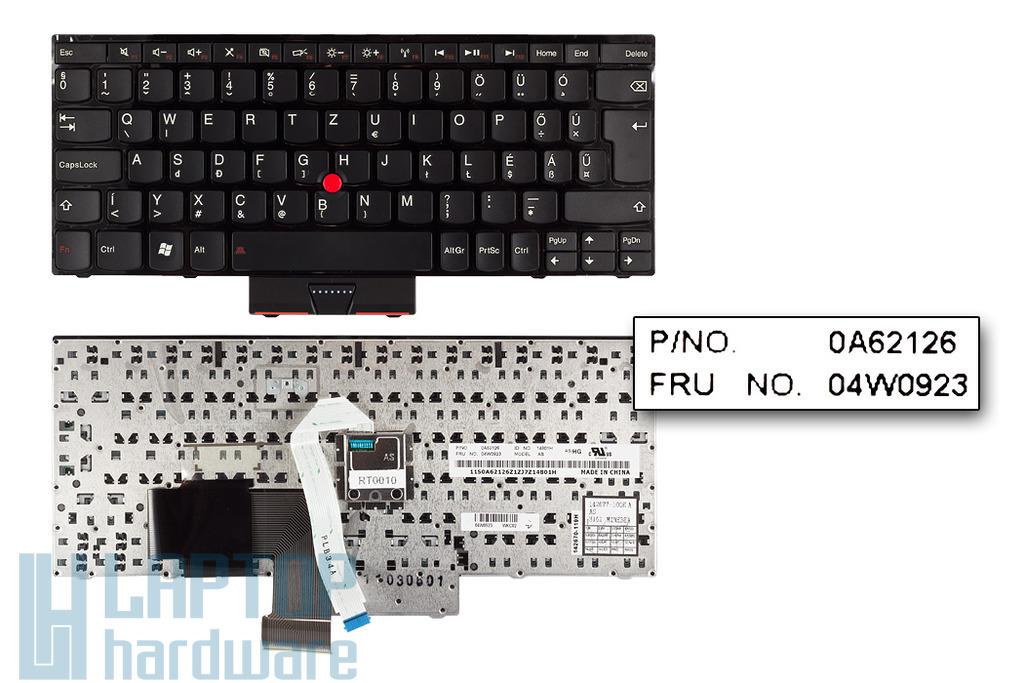 Lenovo ThinkPad Edge E120, E125, E130 gyári új magyar laptop billentyűzet (04W0923, 04W0959)