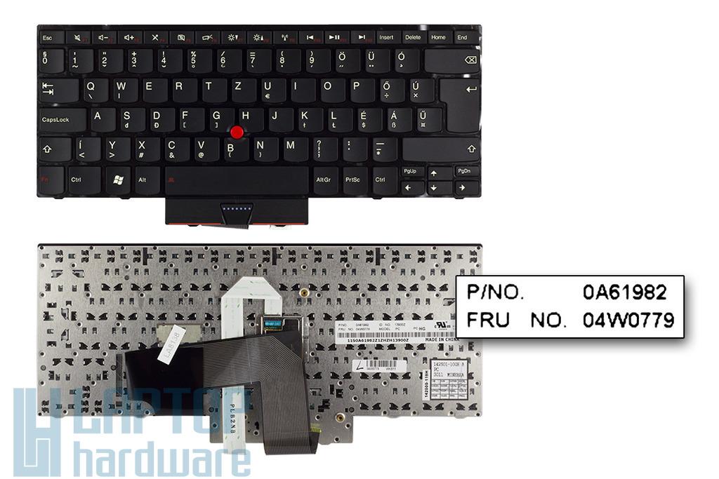 Lenovo ThinkPad Edge E320, E325, E420, E425 gyári új magyar laptop billentyűzet (04W0779, 04W0815)