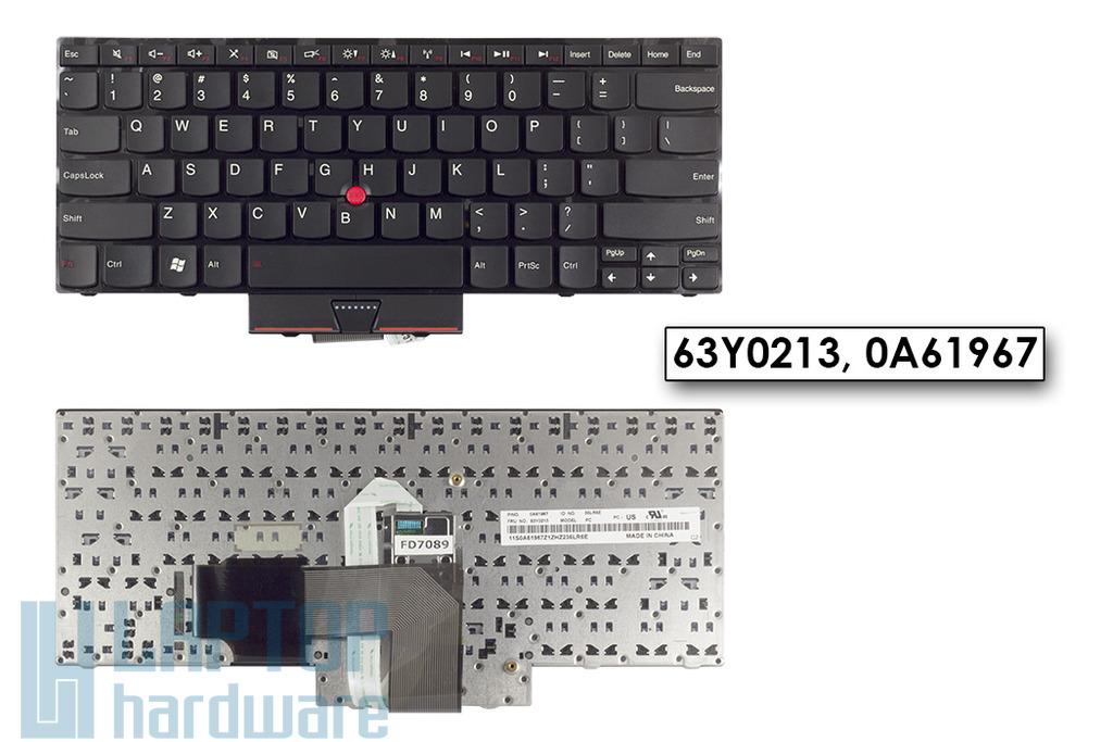 Lenovo ThinkPad Edge E320, E325, E420, E425 gyári új US angol laptop billentyűzet (63Y0213)