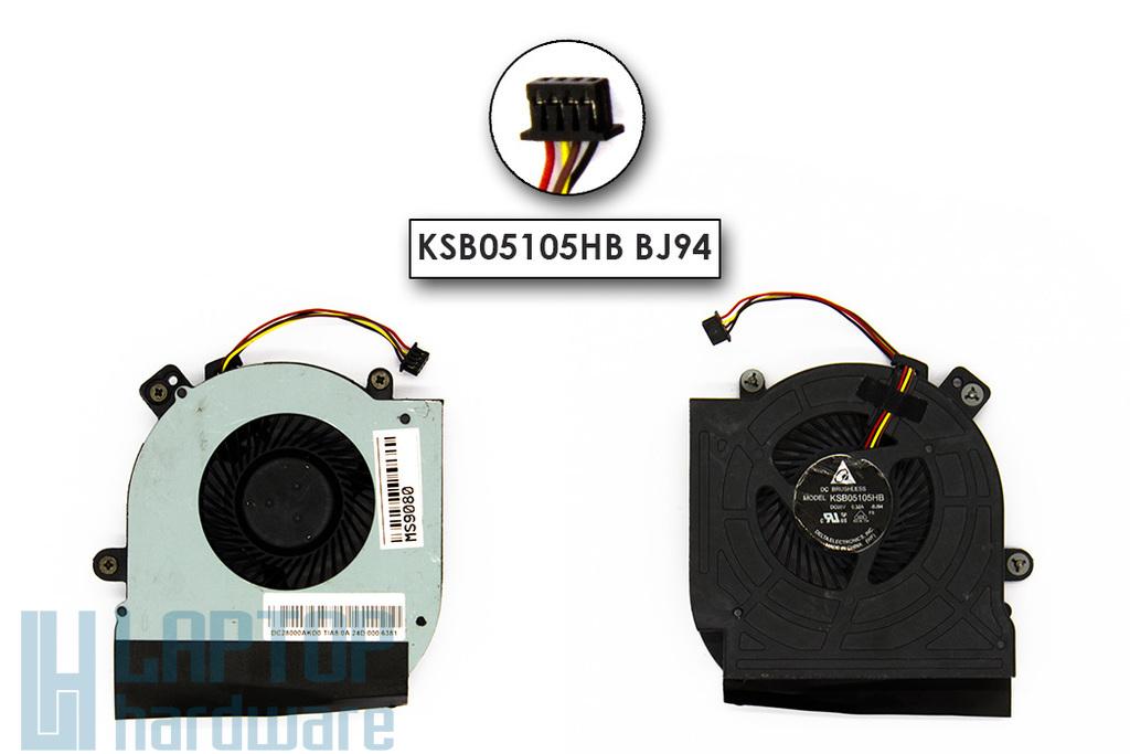 Lenovo ThinkPad Edge E430, E530, E535 gyári új laptop hűtő ventilátor (KSB05105HB BJ94)