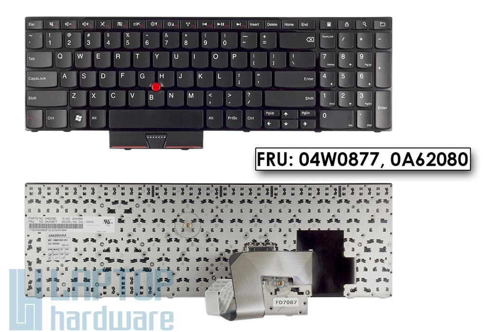 Lenovo ThinkPad Edge E520, E525 gyári új US angol laptop billentyűzet (FRU 04W0877)