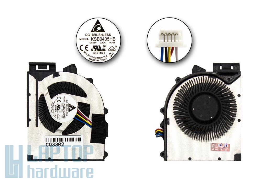 Lenovo ThinkPad Edge E520, E525 gyári új laptop hűtő ventilátor (KSB0405HB AJ28)