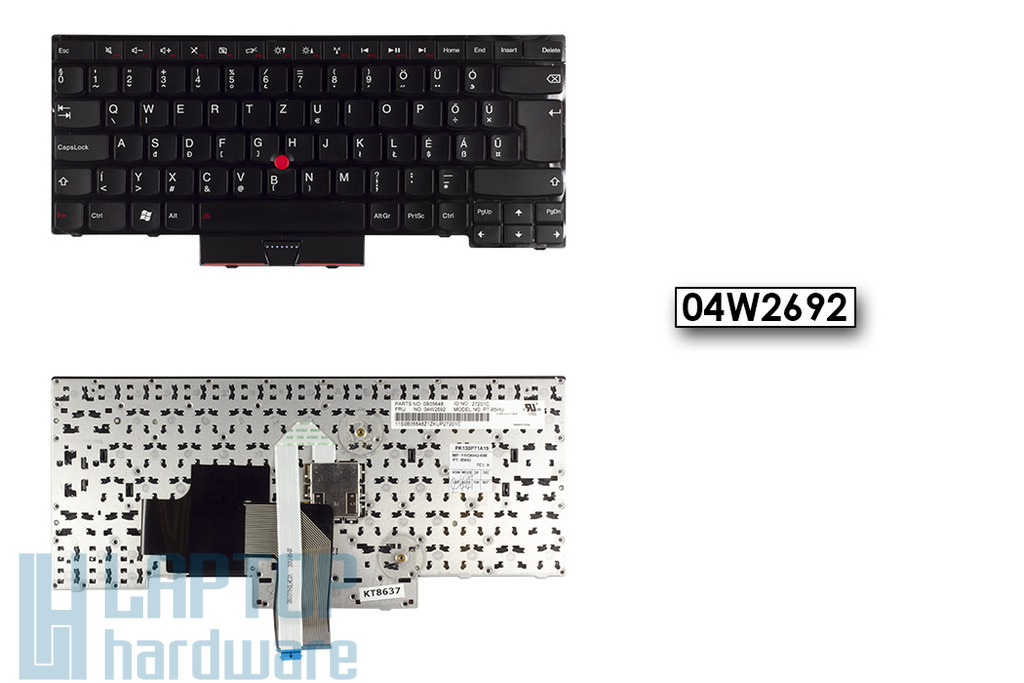 Lenovo ThinkPad Edge S430 gyári új HU magyar billentyűzet, 04W2692