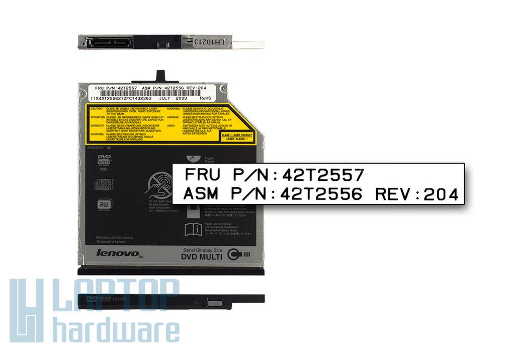 Lenovo ThinkPad R400, R500, T400, T500 laptophoz használt DVD-író (FRU 42T2557)