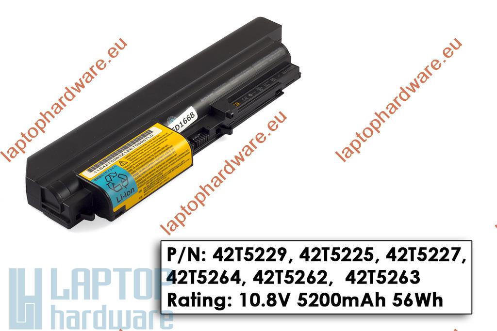 Lenovo ThinkPad R400, T400 használt 75%-os laptop akku/akkumulátor (FRU 42T4678)