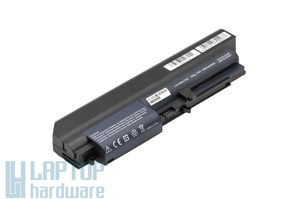 Lenovo ThinkPad R400, R61, T400, T61 6 cellás nagy kapacitású Wide helyettesítő új laptop akku/akkumulátor (FRU 42T5226)