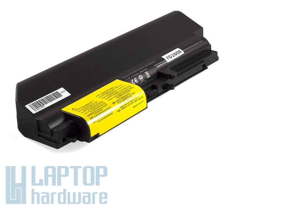 Lenovo ThinkPad R400, R61, T400, T61 9 cellás Wide helyettesítő új laptop akku/akkumulátor (FRU 42T5262)