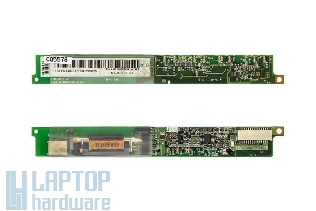 Lenovo ThinkPad R500 használt laptop LCD kijelző inverter (41W1483, 41W1484)