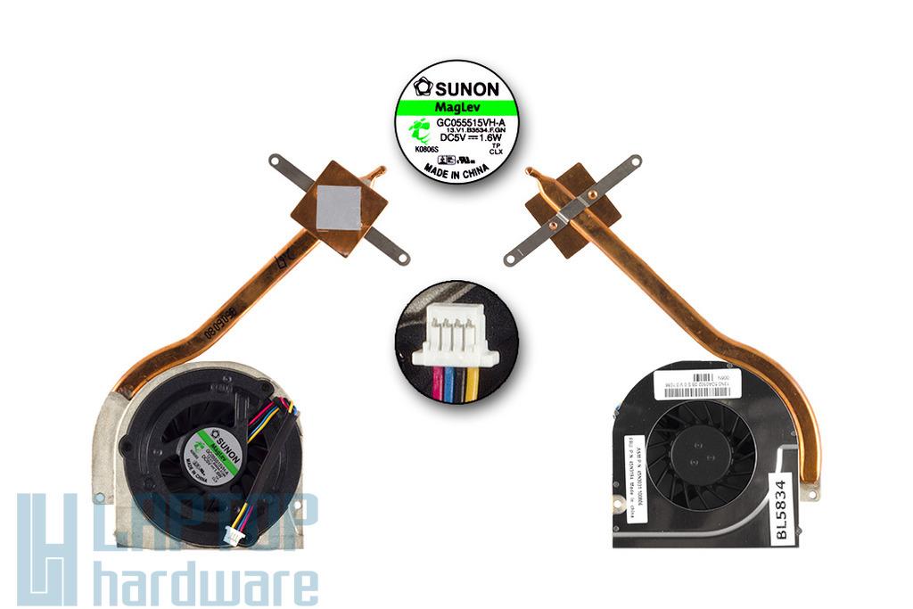 Lenovo ThinkPad SL300 gyári új hűtő ventilátor egység (45N3194)